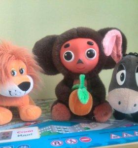 Говорящие мягкие игрушки, ребёнок не играет
