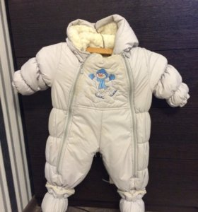 Комбенизон зимний детский для мальчика