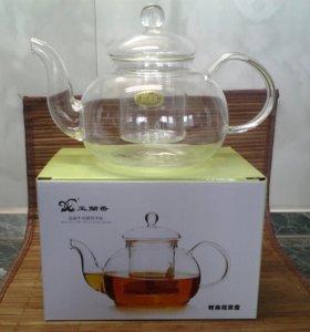 Чайник жаропрочный