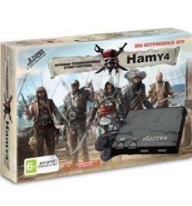 "Игровая приставка Sega+ Dendy ""Hamy 4"" (350in1)"