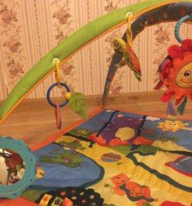 Игровой развивающий коврик Tiny Love