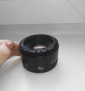 Фотоаппарат Canon 600 d.объективы 18-55,50 mm.