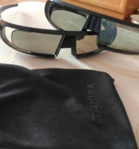 3д очки Toshiba
