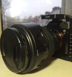 Sony a7 и sigma 24-70 f2.8