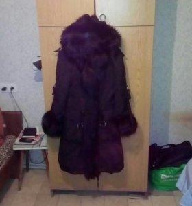 Пальто лиса