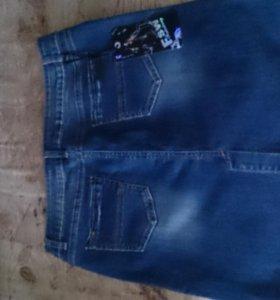 Юбка джинсовая новая.