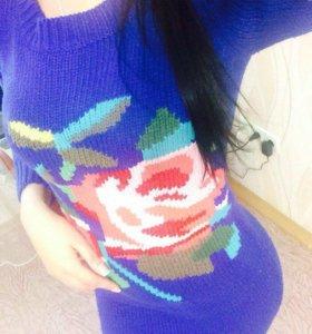 Вязаное платье торг