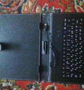 Клавиатура с чехлом от samsung tab.