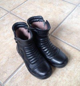 Зимние ботинки нат. кожа нат. мех