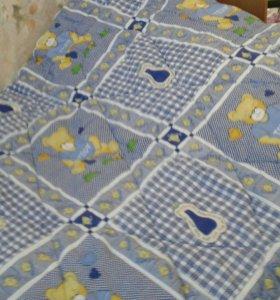 Детское теплое одеялко