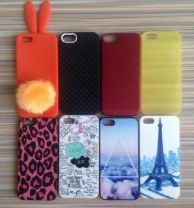 Кейсы iPhone 5, 5s