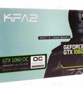 KFA² GeForce GTX1060 OC 3.0 GB High End