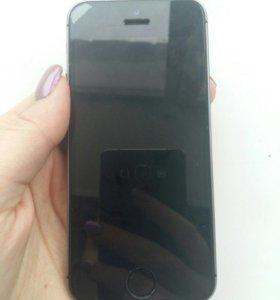 Айфон 5s 16 Гбайт Space Gray