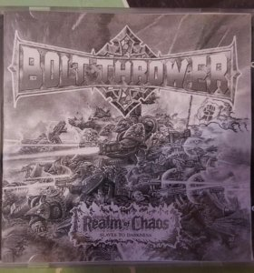 CD Bolt Thrower. Realm of Chaos.