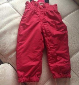 Новые зимние штаны-комбенизон