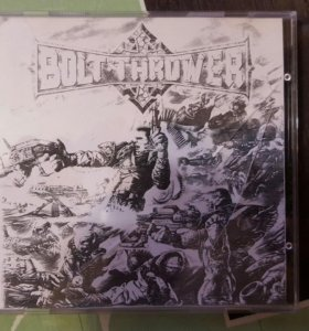 CD Bolt Thrower. Honour Valour Pride.