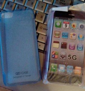 Новые Чехлы на айфон 5 пластик