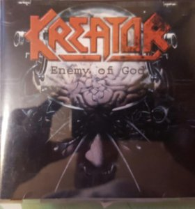 CD Kreator. Enemy of God.
