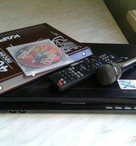 Продам DVD плеер с караоке LG DKS-7500