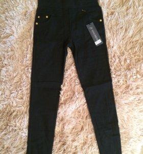 Лосины-брюки на флисе (новые)