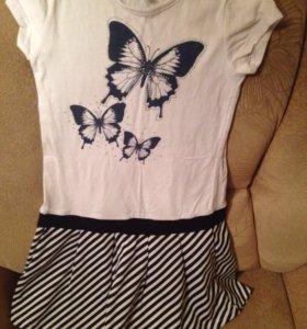 Платье для девочки 9-10 лет.