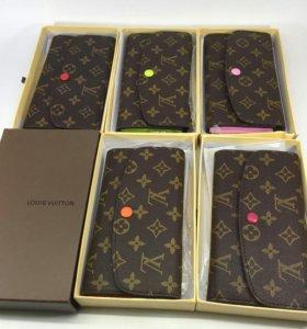 Новый кожаный кошелёк Louis Vuitton