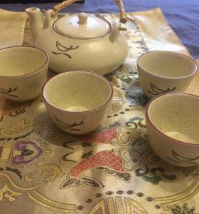 Чайный набор из керамики