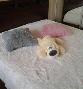 Пушистые подушки