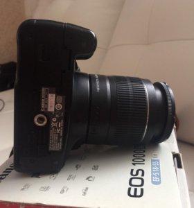 Зеркальная Камера canon 1000d