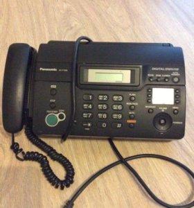 Телефон факс Panasonic kx ft 938