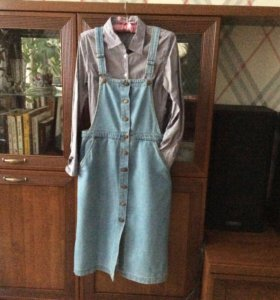 Новая джинсовая юбка. Размер 30. Цена 2500!рублей