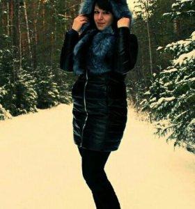 Кожаное пальто!