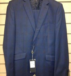 Новый костюм синий