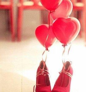Воздушные сердца