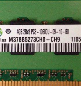 Оперативка Samsung 4gb ddr3