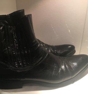 Новые мужские ботинки оригинал Италия Baldinini
