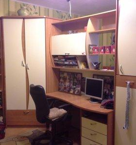 Детская комната (стенка +кровать)от 5 лет до 18 л