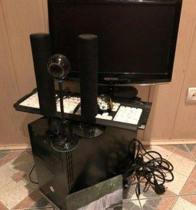 """Игровой комп i3/4Gb/80gb/GT640 + монитор 19"""""""