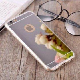 Зеркальный чехол для iPhone 6/6s