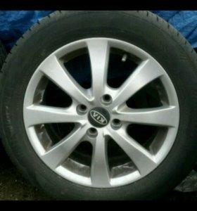 Комплект колёс/лето на Kia Hundai