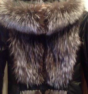 Куртка трансформер(чернобурка)
