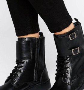 Новые кожаные Ботинки T.U.K. Ealing