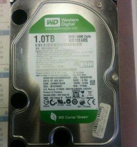 Жесткий диск HDD WD 1tb