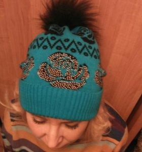 Новая шапочка с бубоном