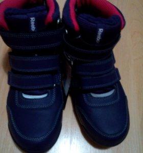 Новые зимние ботинки Reebok
