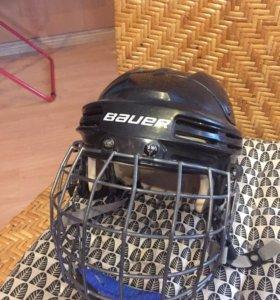 Шлем хоккейный BAUER с решёткой
