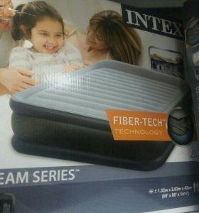 Надувная кровать интекс.