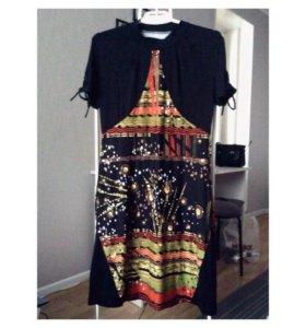 Платье 48 р вискоза