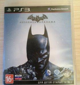 Диски на BATMAN на PS3