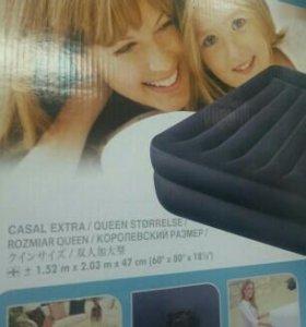 Кровать надувная интекс.